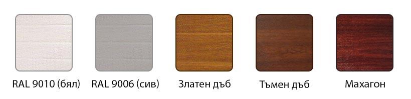 Портални и дворни врати - текстура на панелите