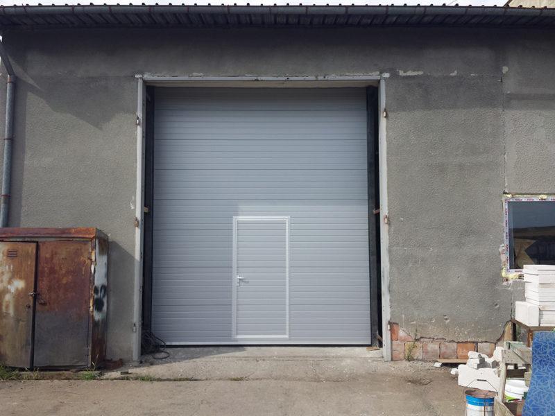 """Раднево - Индустриална секционна врата в """"Мини марица изток""""_001"""