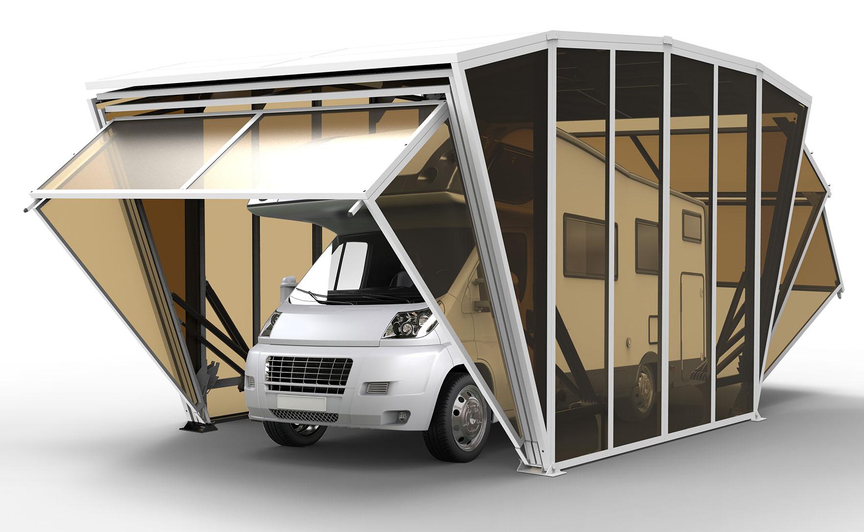 Модерен поглед върху гаражната врата - gazebox-03