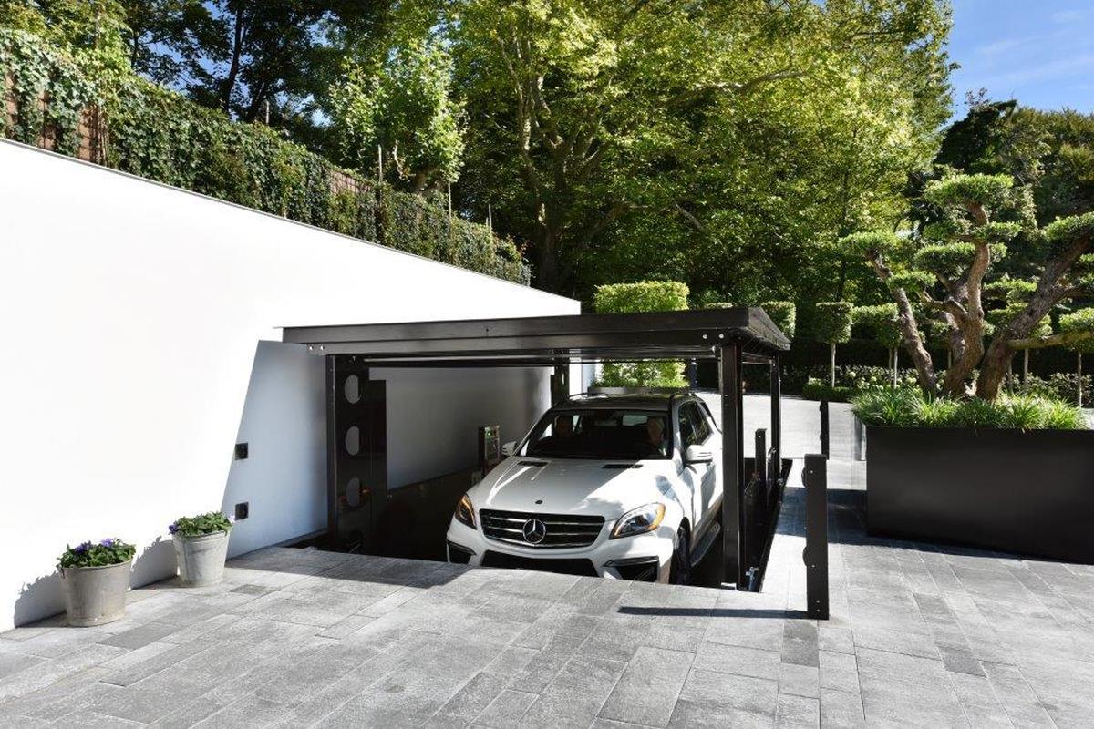 Модерен поглед върху гаражната врата - idealpark-02