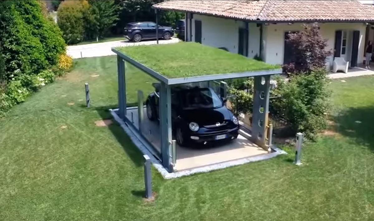 Модерен поглед върху гаражната врата - idealpark-03