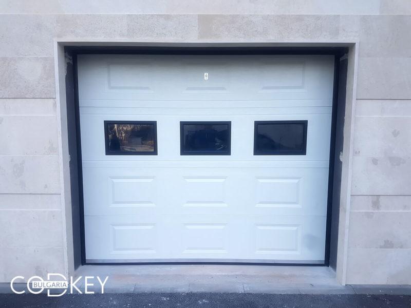 Секционна гаражна врата в град София_001