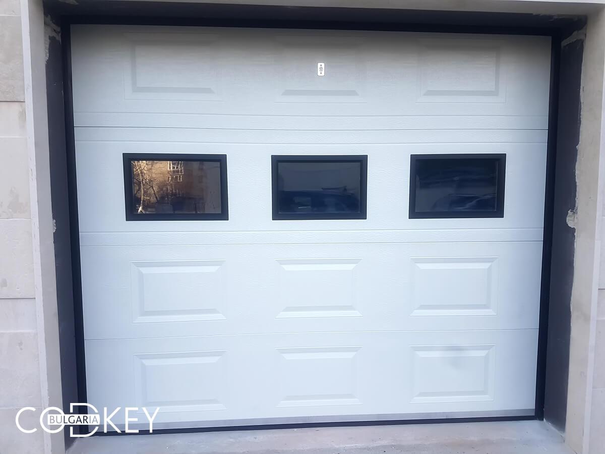 Секционна гаражна врата в град София_003