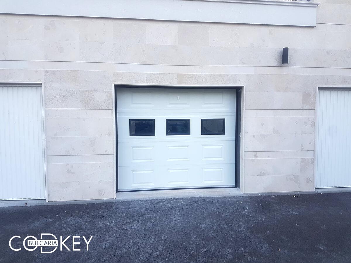 Секционна гаражна врата в град София_006