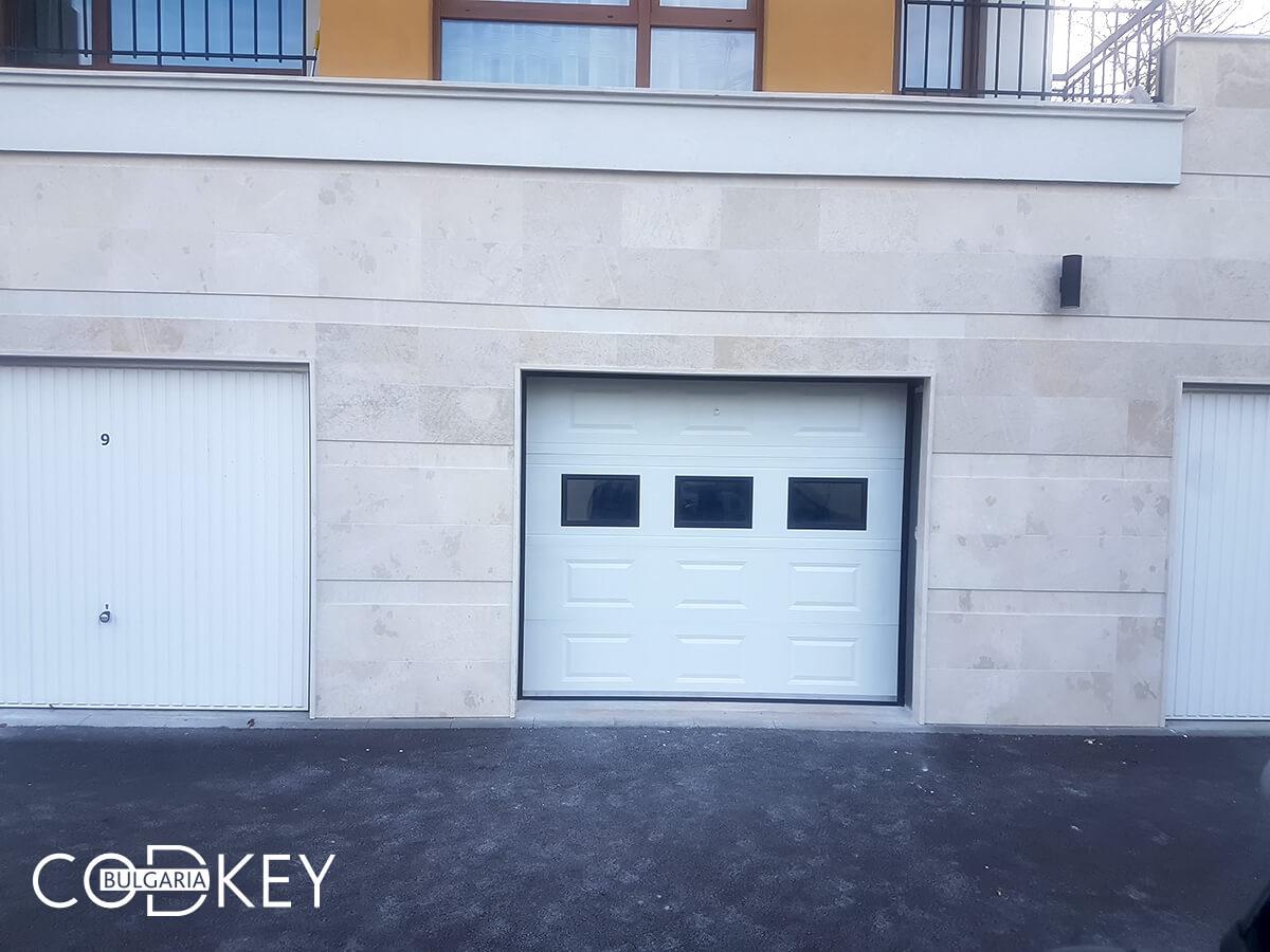 Секционна гаражна врата в град София_007
