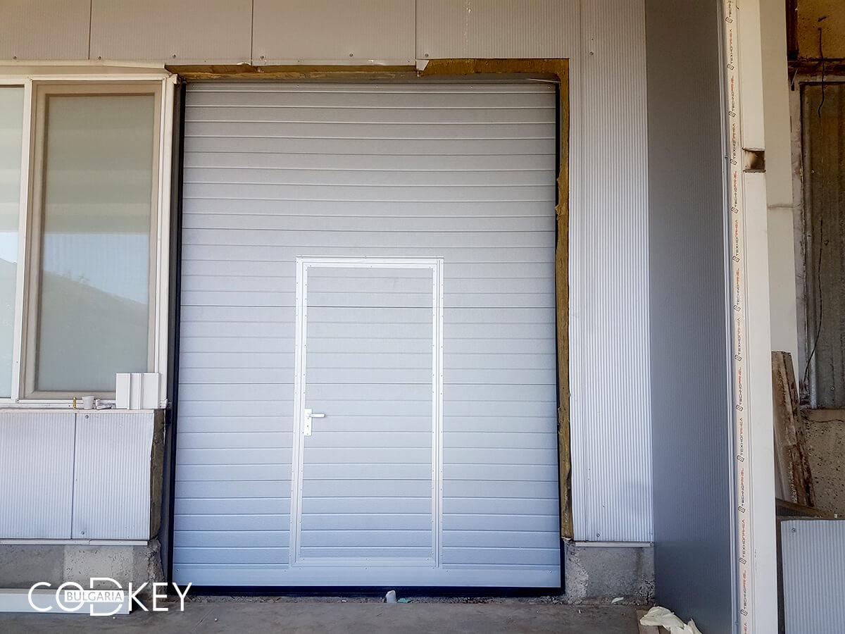 Индустриална секционна врата в град Стара Загора_001