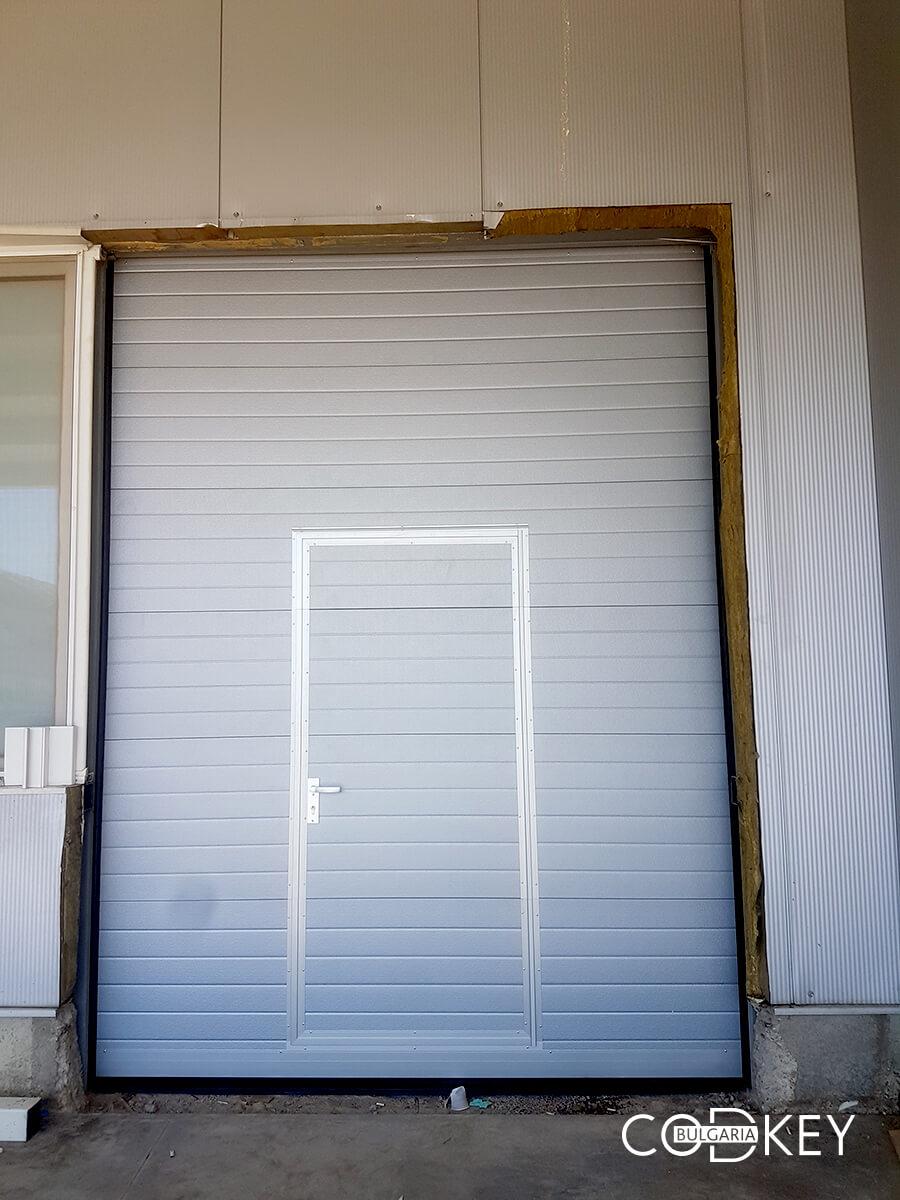 Индустриална секционна врата в град Стара Загора_002