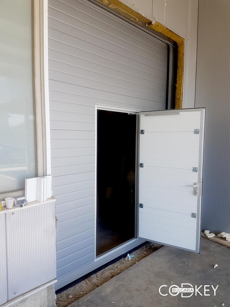 Индустриална секционна врата в град Стара Загора_004
