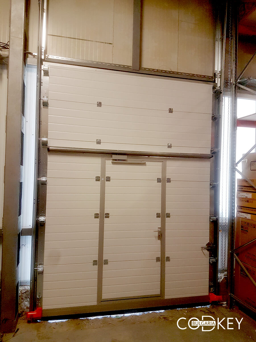 Индустриална секционна врата в град Стара Загора_005
