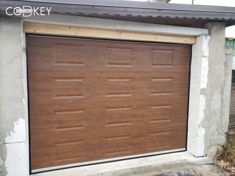 Секционна гаражна врата в град София_01