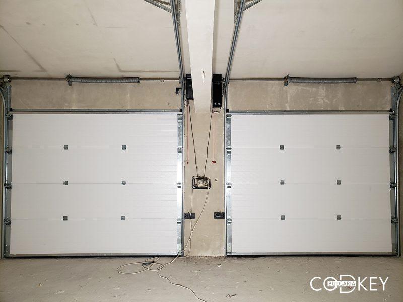 Гаражни секционни врати в град Хасково_001