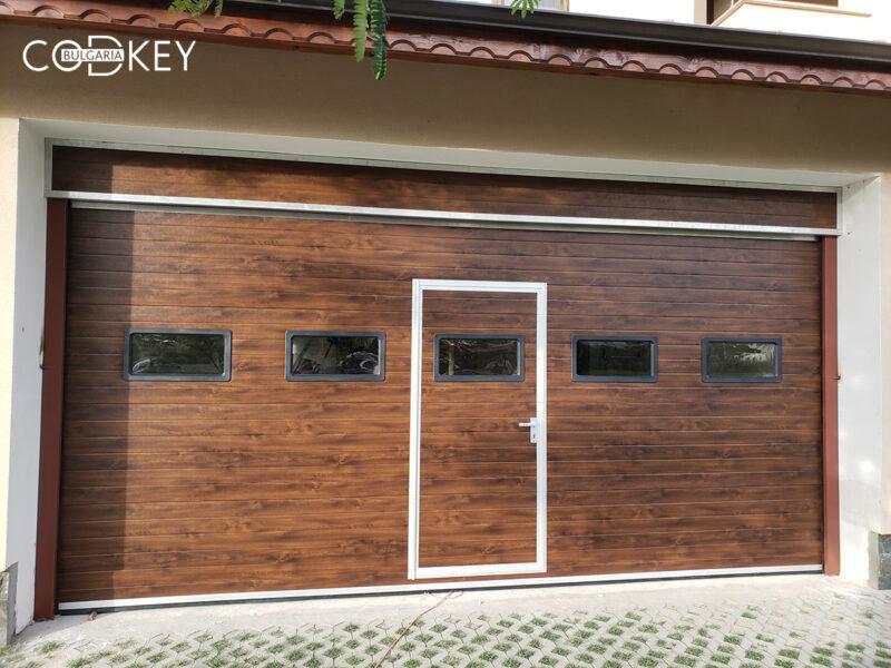 Гаражна секционнa врата в град Пловдив_001