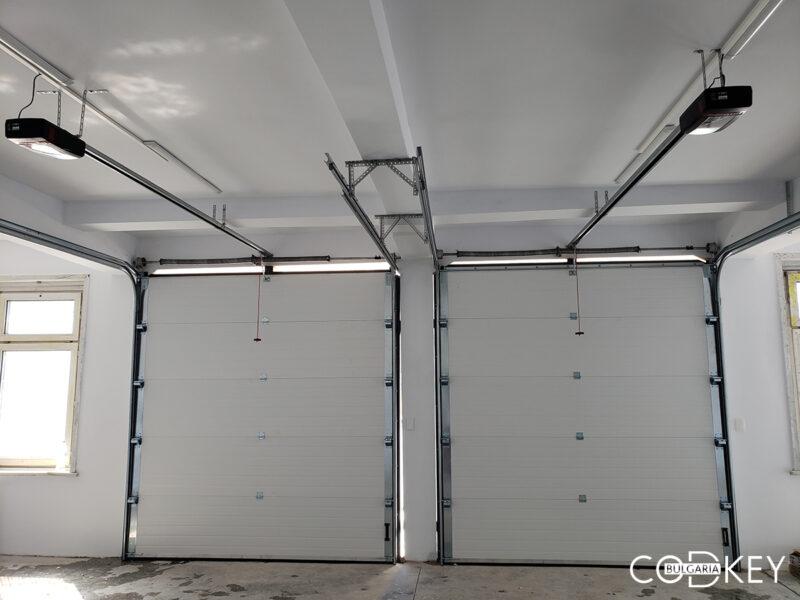 Индустриални секционни врати на складова база в град Враца_001