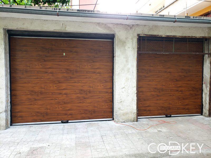 Гаражни секционни врати в град Берковица 001