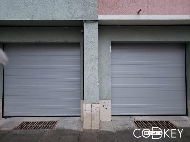 Гаражни секционни врати в град Плевен 001
